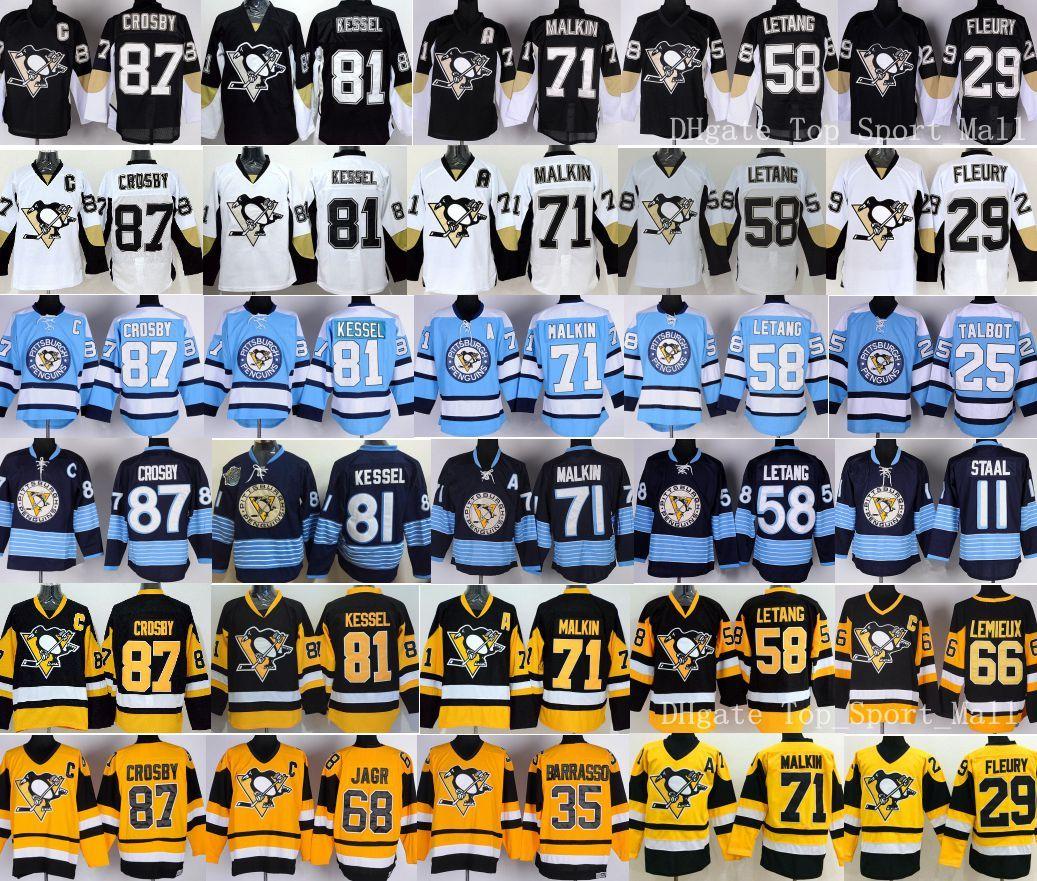 low priced e3b01 b6d53 Ice Penguins Hockey Evgeni 58 Pittsburgh Jerseys Mario 2019 ...