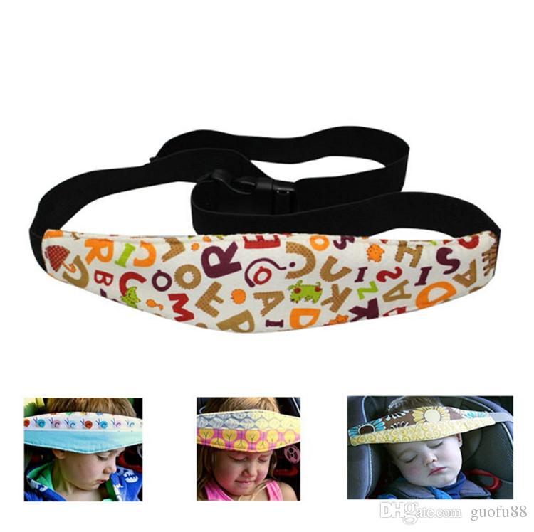 Infant Head Safety Belt 17 Type Children Adjustable Nap Sleep Holder Belt Car Seat Fixing Band Strap Kids Baby Carriage Bed Protective Belt
