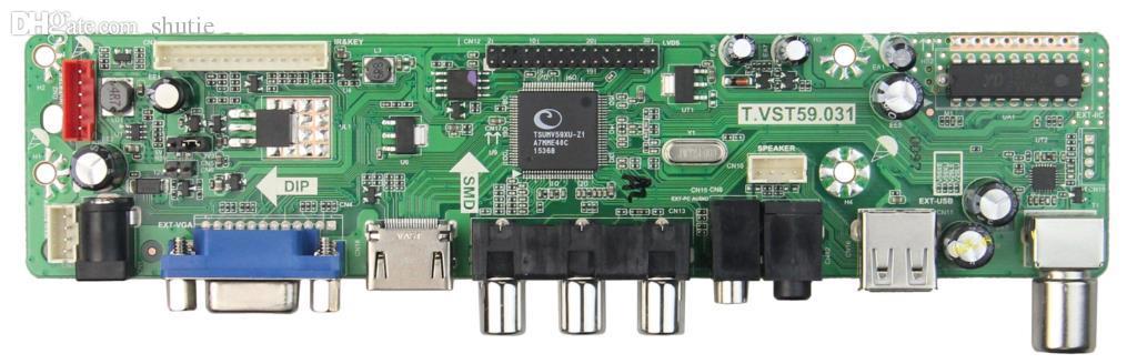 Wholesale-T.VST59.03 LP154W01-A3 용 LCD / LED 컨트롤러 드라이버 보드 LTN154X3-L01 (TV + HDMI + VGA + CVBS + USB) LVDS 재사용 랩톱 1280x800