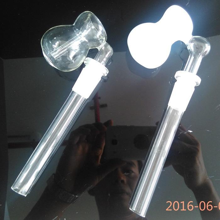 2 Cores Calabash Design Vidro Tigela coletor de cinzas Borbulhador Percolator 14mm 18mm Joint Size funstion filtro Assorted para narguilé tubos
