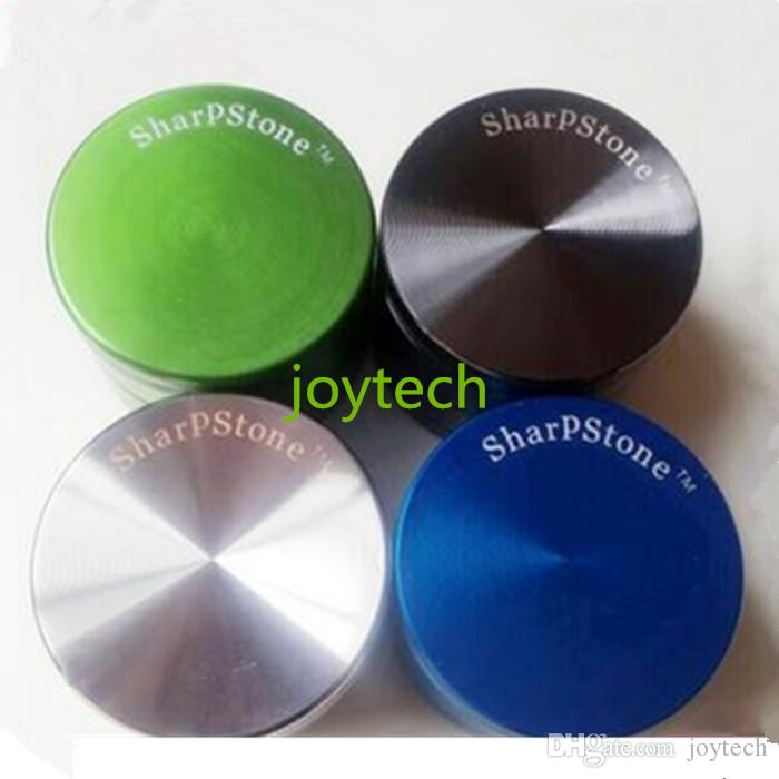 2016 Newest Tobacco Smoking Grinders 4pc Dry Herb Metal Grinder Pipe 4 Parts 55mm/63mm Diametre SharpStone Grinders 4 Layers