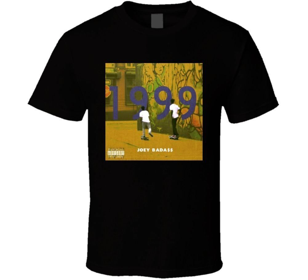 100% Cotton For Man Shirts Joey Badass 1999 Best Hip Hop Mixtape Ever T shirt Movie Shirt