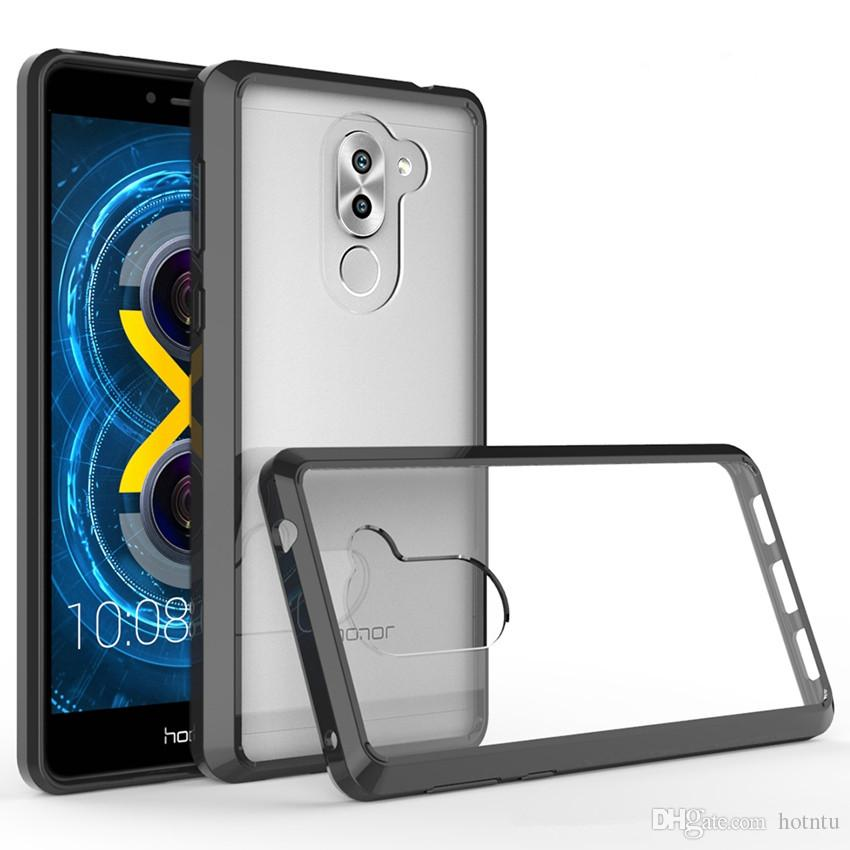 info for b663e 184f2 For Huawei Honor 6X Phone Case Air Cushion Tech Soft TPU Bumper Clear Back  Cover Transparent Hybrid Armor Cases For Huawei Honor 5X Leather Cell Phone  ...
