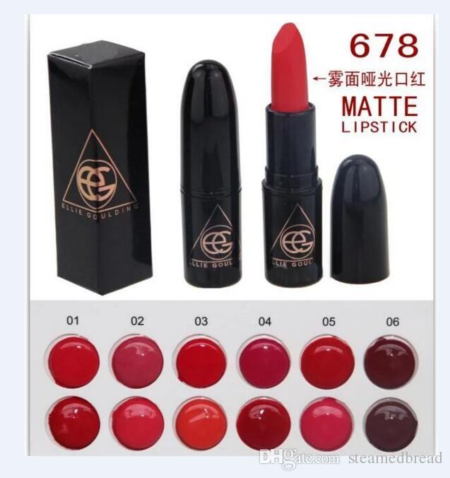 12 pcs HOT boa qualidade Menor Best-Seller boa venda NOVO Makeup MATTE BATOM doze cores diferentes