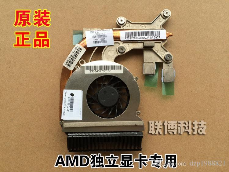 NOUVEAU refroidisseur pour radiateur de refroidissement HP CQ40 CQ45 DV4 avec ventilateur 487355-001 495421-001 AT03Y0010A0