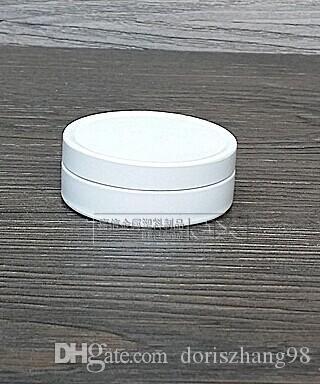 Contenitore per balsamo per labbra in alluminio bianco da 10 g, barattoli di latta in alluminio bianco da 10 ml, barattoli di alluminio bianco da 10 g / ml