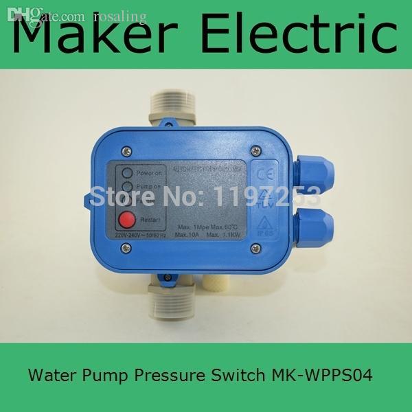 도매 MK-WPPS04 중국에서 만든 고품질 자동 전기 전자 스위치 제어 워터 펌프 압력 컨트롤러