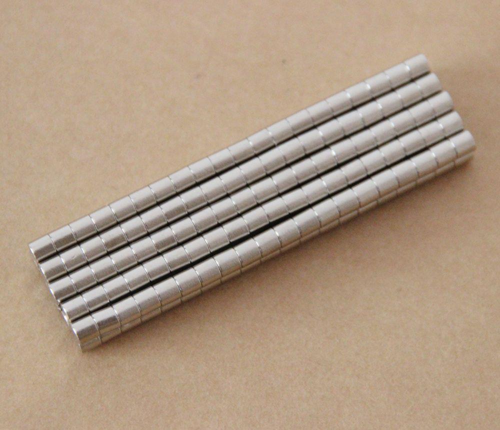 В наличии 50 шт. Сильные круглые NDFEB Магниты Dia 2x2mm N35 Редкоземельный Неодимий Постоянное Ремесло / DIY Магнит Бесплатная Доставка