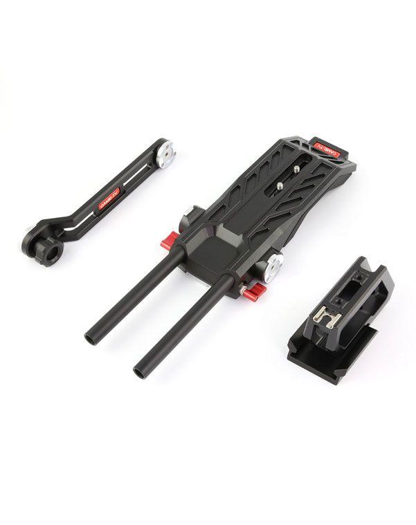 Installation d'appareil-photo DSLR d'appareil-photo d'épaule de CAME-TV Blackmagic URSA mini