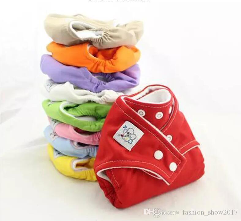9 colors Reusable Baby Infant Nappy Cloth Diapers Soft Covers Washable Free Size Adjustable Fraldas Winter Summer Version