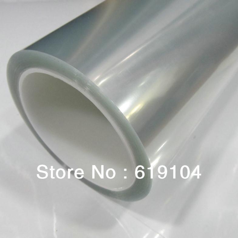 Fabrik-Preis 1.52x15M Auto-voller Körper-Vinylaufkleber-glänzender PVC-Schutzfilm Garantierte 100% transparente Auto-Scheinwerfer-Vinyl
