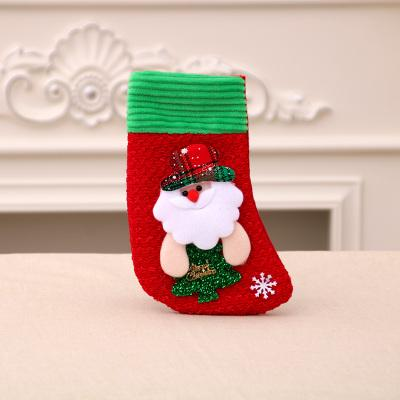Embroidered Christmas Stockings.Personalised Christmas Stockings Kids Christmas Socks Gift Decorations Bags Socks Embroidered Christmas Stocking Snowman Santa Decorative Items For