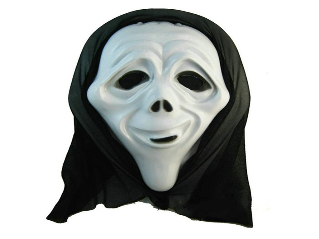 Halloween Plastic Mask For Adult Fashion Party Scary Horror Mask ...