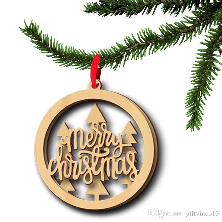 Free Wooden Christmas Tree Patterns.Wood Christmas Ornament Wooden Laser Cutouts Bird Tree Merry Christmas Patterns Christmas Tree Hanging Ornaments Party Decorations Xmas Decorations On