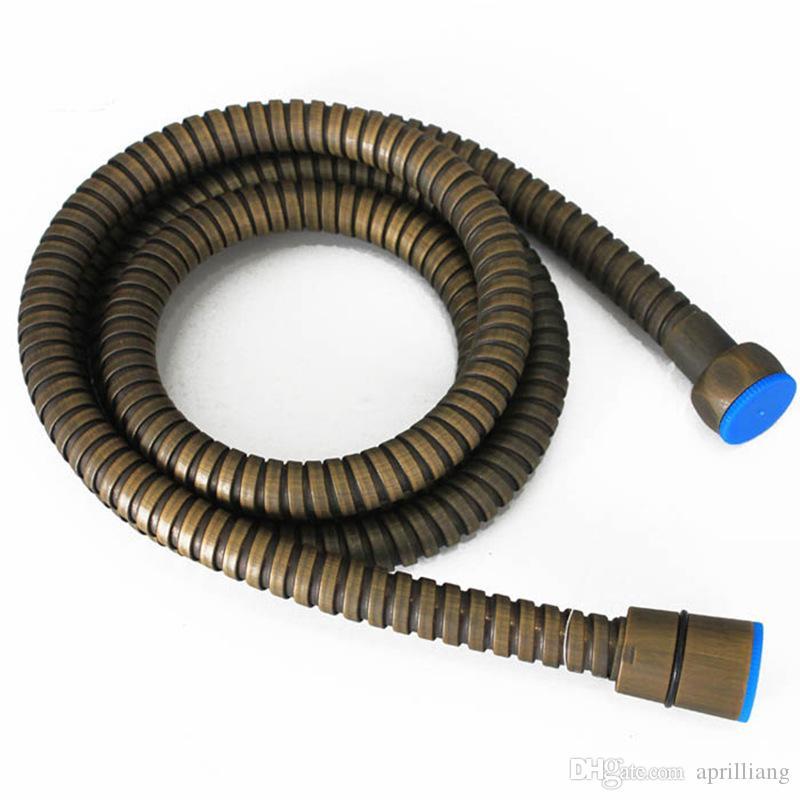 """Acessórios de Banho Latão água Hose Pipe tubo flexível antigo Acabamentos para chuveiro de mão bidé Spray de 1.5M G1 / 2"""""""