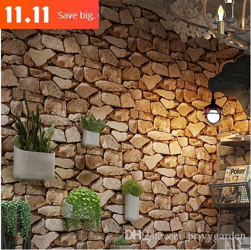 Compre 11 11 Mitad De Papel Tapiz Retro Modern Reclaimed Wall