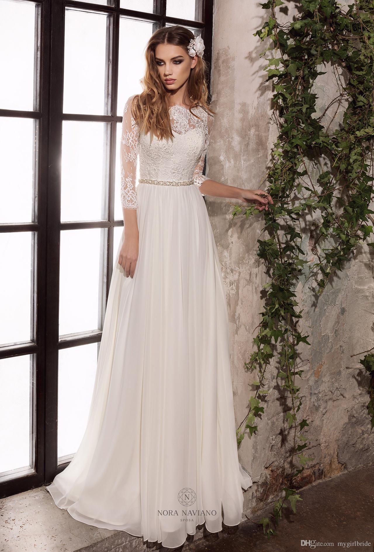 Fotos prenses elbise modelleri picture - Elbise Modelleri Gelinlik 2017 Uzun Kollu Ifon Prenses D N Elbise Custom Made Gelin Gelinlikler
