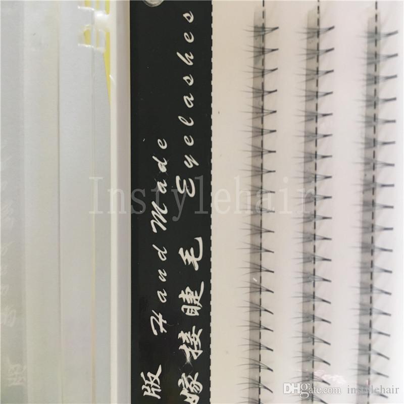 8mm 3 hairs /Cluster Fashion Professional Makeup Individual Cluster Eye Lashes Grafting Fake False Eyelashes Extensions