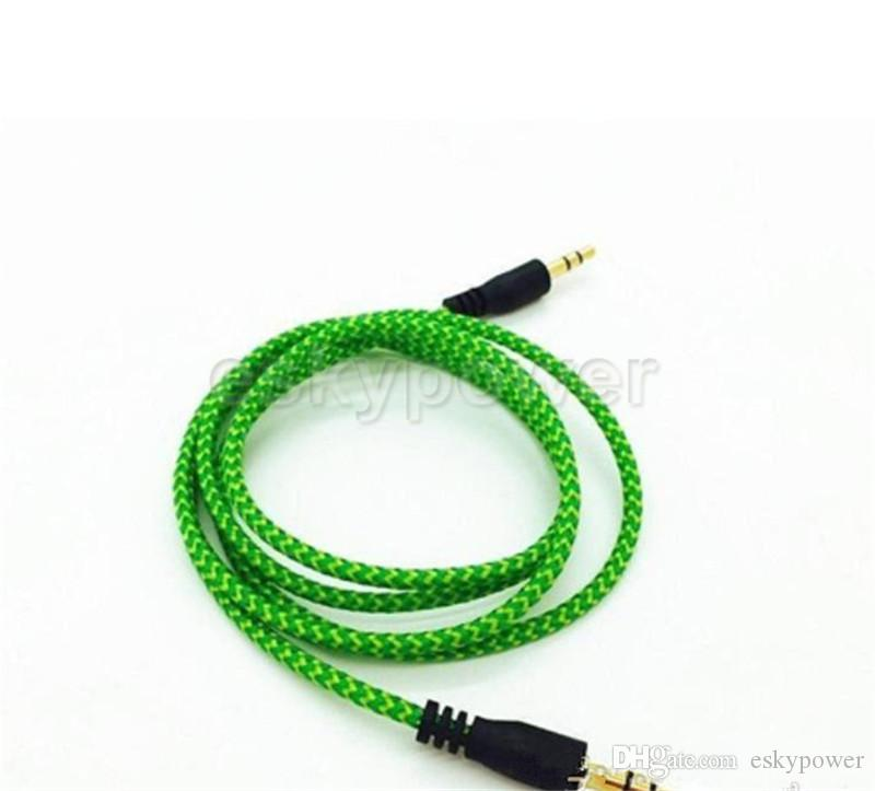 Audio Anschluss Für Samsung Pc Mp3 Kopfhörer Lautsprecher Nylon ...