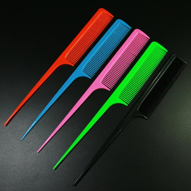 Escolha o estilo do cabelo, pente de cauda pontiagudo, plástico, dobra preta, presentes dente pente constante, Yiwu pequena loja de departamentos