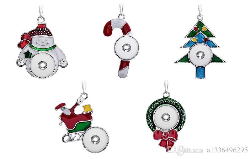 Новый DIY сплава кнопка высокое качество мода ожерелье женская Оптовая коллокация партии Рождественский подарок ювелирные изделия стразы 12