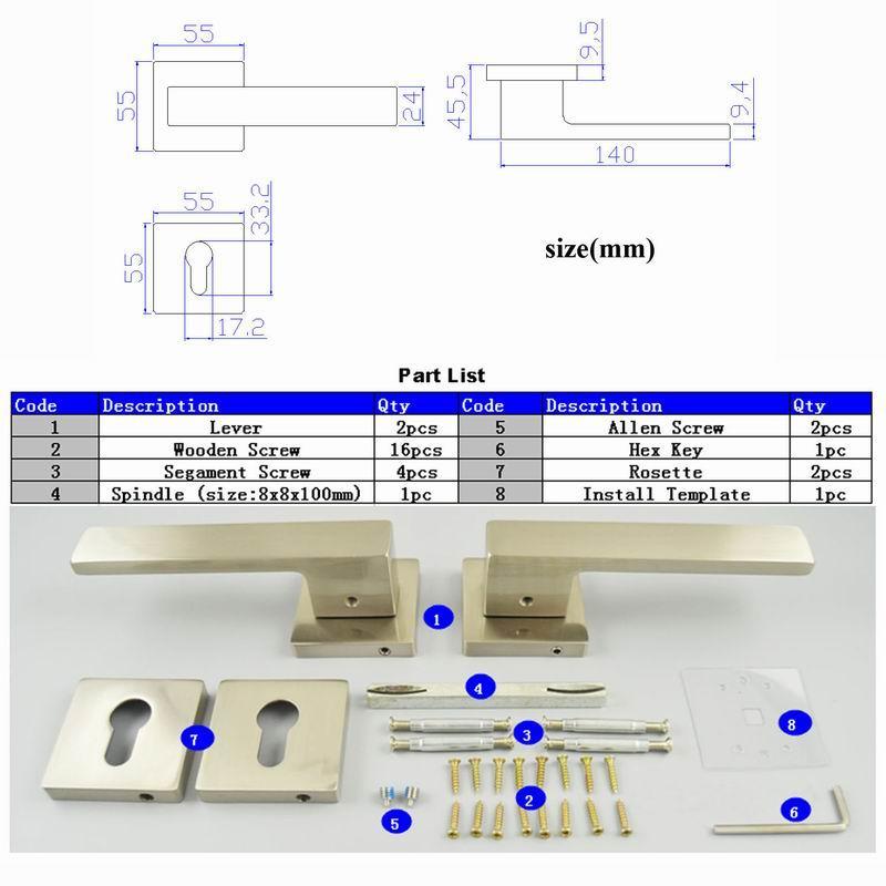 2 unidades Pomo de manija para grifo de una sola palanca con n/úcleo de v/álvula de 35 mm//40 mm