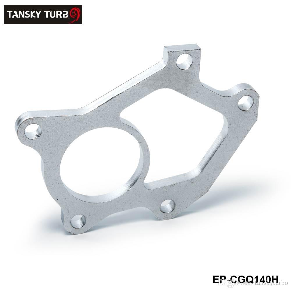 TANSKY -NEW Universal Turbocharger Flange For SUBARU STI Twin Scroll VF36 VF37 Dump Pipe / Turbine Outlet EP-CGQ140H