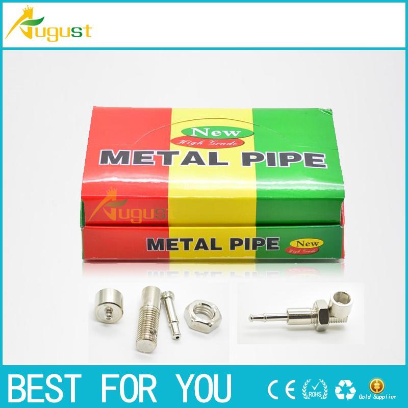 bolt design smoking metal pipe click n vape smoking pipe sneak a toke Screw pipe