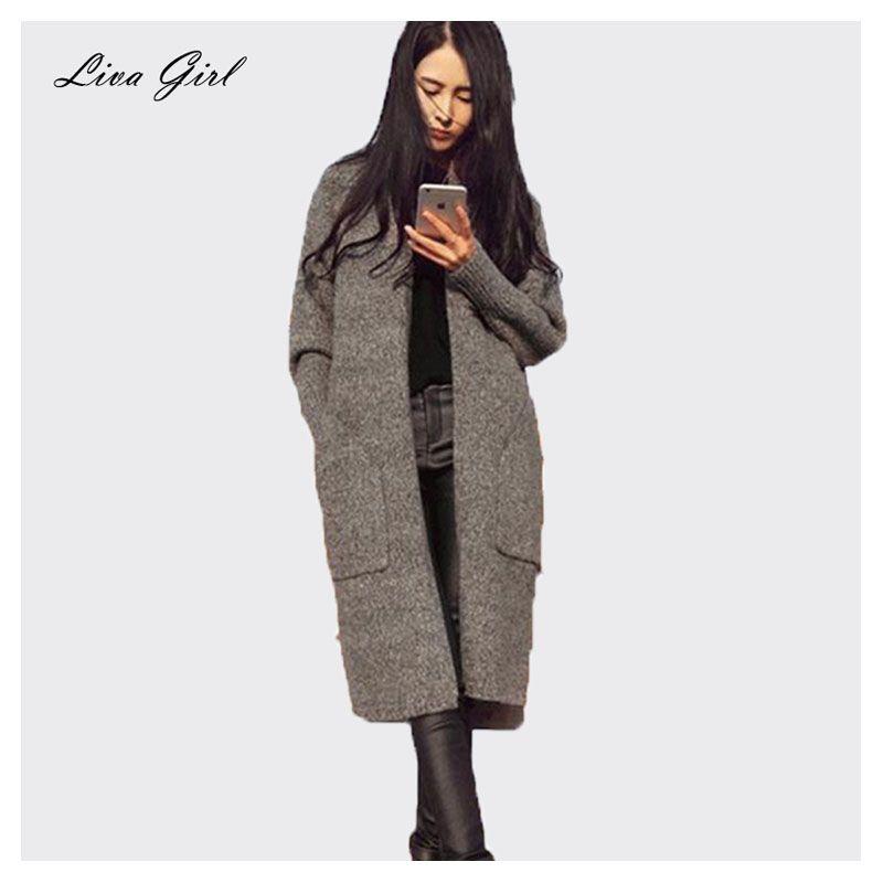 Hurtownie sprzedać dobrze nowa jesień i zima dzianina sweter przyciski bluzki dzikiej kurtki dzianiny kaszmirowe sweter damski płaszcz płaszcz