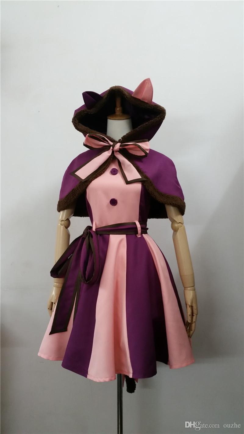 Alice in Wonderland Cheshire Cat Donna Sciarpa Nero//Viola,