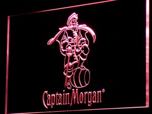 a138 Captain Morgan Spiced Rum Bar Neon Light Sign Free Shipping Dropshipping Wholesale 7 colors to choose