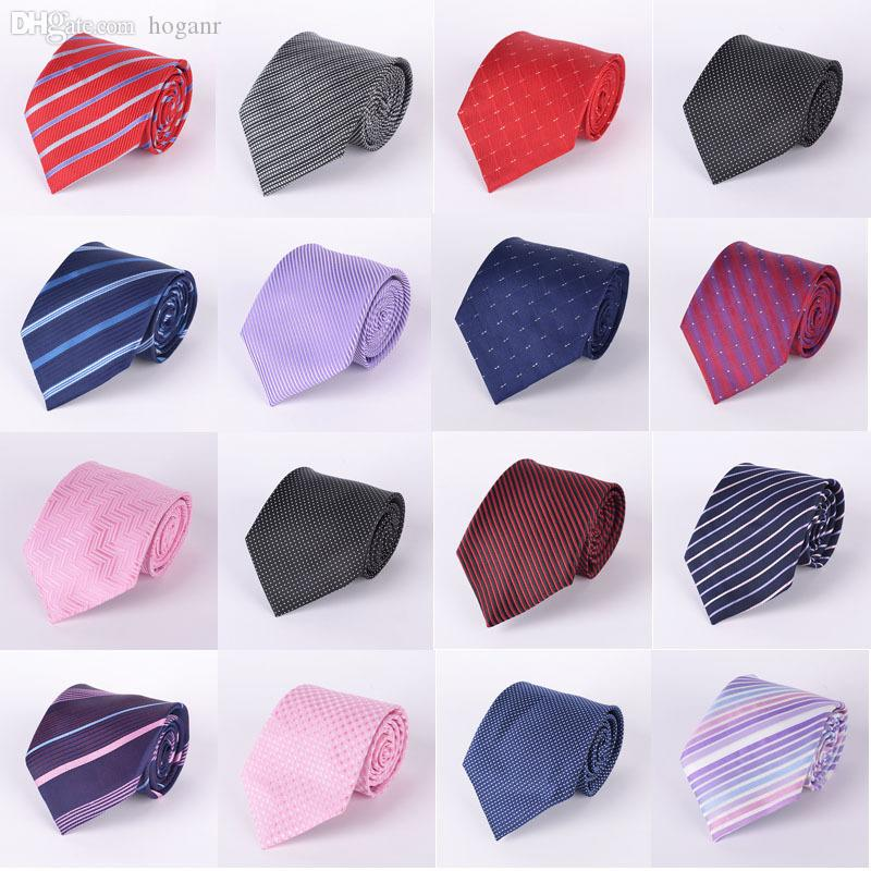 Wholesale-Long 145cm 2015 brand fashion designer 36 스타일 공식적인 고품질 망 pajaritas gravata 남성 실크 넥타이 넥타이 19TI001