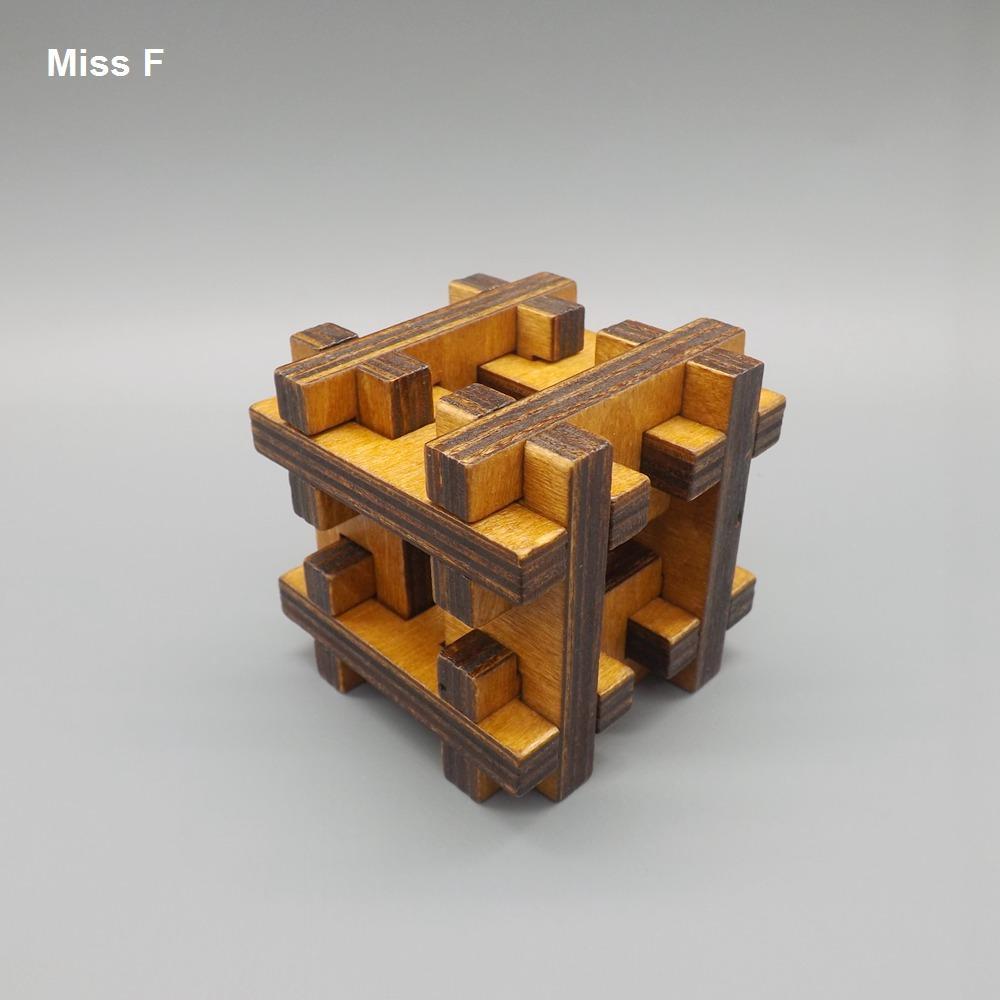 Novidade Gadget Explorando Jogos H Forma De Madeira Kong Ming Bloqueio Puzzles Brinquedos Presentes para Crianças