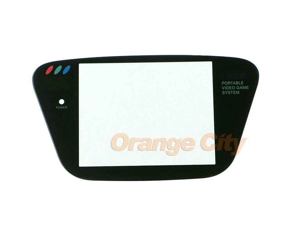 Lente de tela de vidro protetor de peça de reparo para Sega Game Gear GG painel de lente protetora