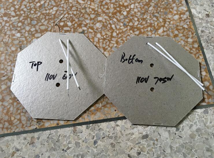 Ein Paar 2 Stück Heizelement für Ei Waffeleisen Geeignet für die Modell FY-6-Serie