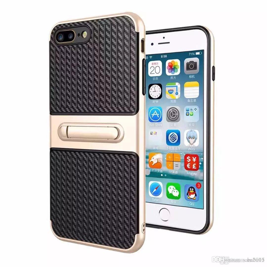 Путешественник мобильного телефона оболочки из углеродного волокна стент 2 в 1 защитная крышка от падения для Samsung A3 A5 A7 A310 A510 A710 A320 A520 A720