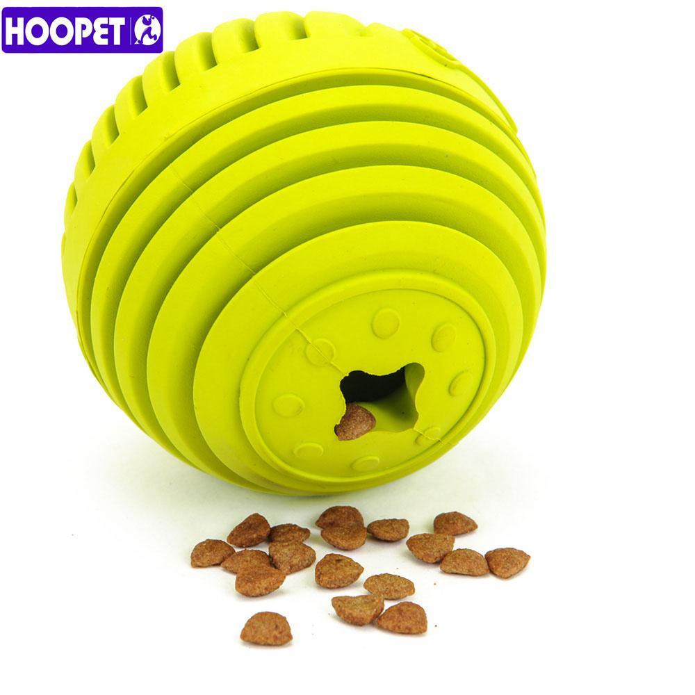 Hoopet 강아지 저항 장난감을 물린 새로운 저항 테디 골든 리트리버 강아지 퍼즐 애완 동물 고무 볼