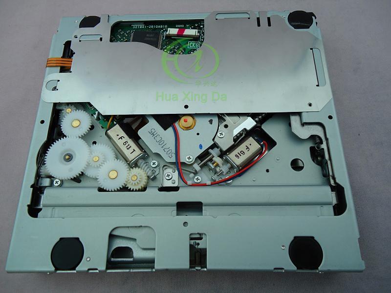 Envío gratis Fujitsu diez DENSO CD solo cargador de mecanismo DA-36-24B para la radio del coche de Toyota Sistemas de sonido de navegación por voz DVD de coche