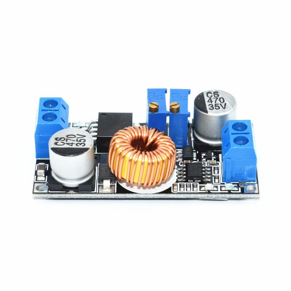 Wholesale- Original 5A DC to DC CC CV Lithium Battery Step down Charging Board Led Power Converter Lithium Charger Step Down Module XL4015