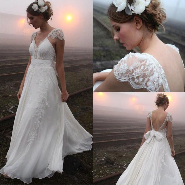 Outdoor mariée A-ligne Robes longues étage legnth Lady Party Robes Tenue de soirée Maxi Celebrity chaud Vente Robe de mariée