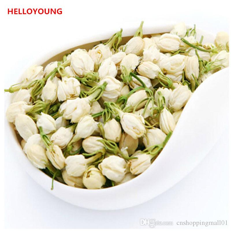 50g organico cinese Early Spring fragrante gelsomino aromatico tè verde sanità extra Tè Nuovo tè profumato Green Food
