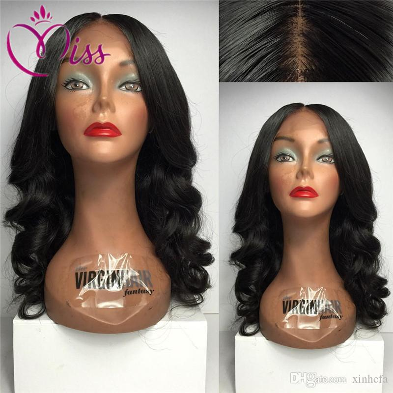 2016 100%Brazilian Full Lace Wig Silk Top Virgin Human Hair Glueless Silk Top Full Lace Wigs Bouncy Wave With Silk Base