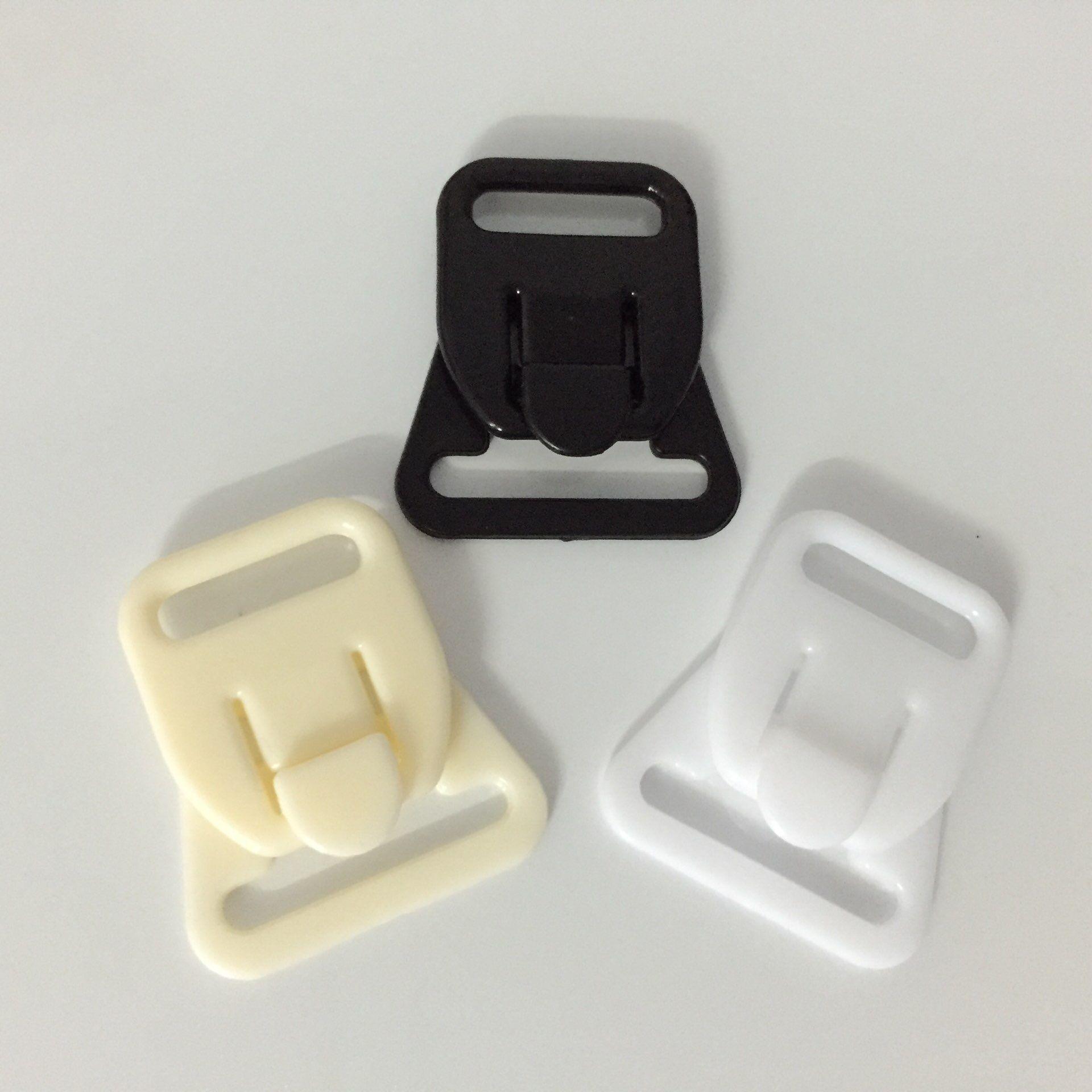 O envio gratuito de 60 conjuntos / lote sutiã de amamentação de plástico clipe de maternidade 18mm 3 cores disponíveis