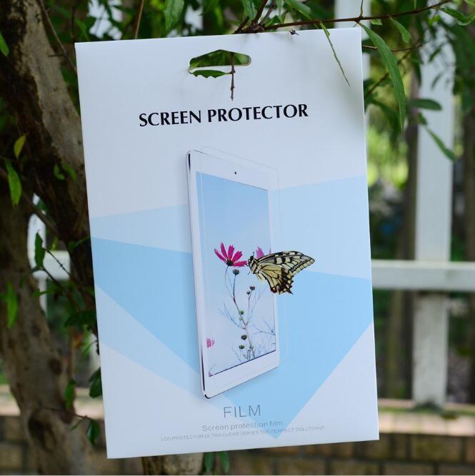 Carta da imballaggio vuota al dettaglio per protezione dello schermo in vetro temperato Scatole per imballaggio per iPad Mini Air Pro 3 4 5 2017 10.5 12.9