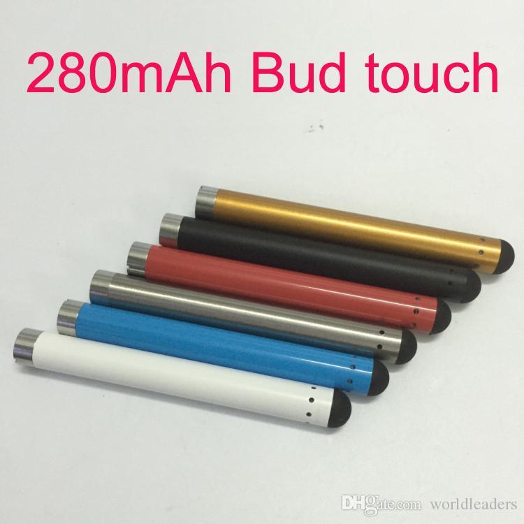 O-pen vape bud touch batteria CE3 280mAh e cig 510 filo per vaporizzatore a cartuccia di olio di cera