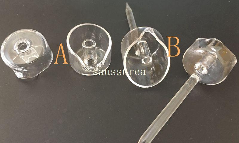 2016 Banger Carb Cap Cuarzo Carb Cap para 4 mm de espesor Cuarzo Banger Nails ajuste OD 22 mm Bangers envío gratis