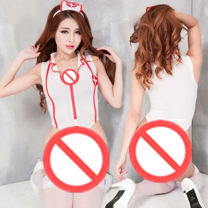 Livraison gratuite nouvelle lingerie sexy cosplay sous-vêtements sexy uniformes chauds étudiants installés hôtesse de l'air infirmière femme de chambre costume costume sexy rôle pyjamas