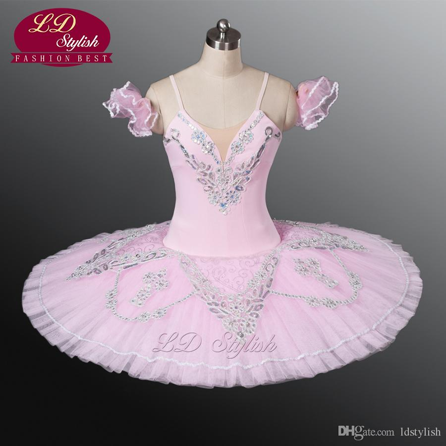Blue Swan Lake Ballet Costumes Blanc Filles Classique Ballet Tutu Rose Professionnel Ballet Tutu Blanc Swan Tutu LD8931