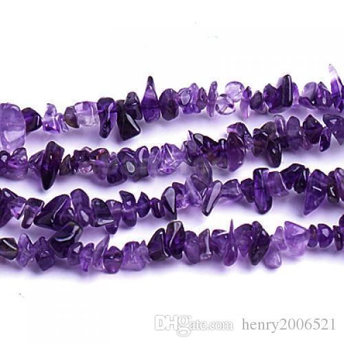 bien connu pour sa qualité fine Perles de particules non coupées d'améthyste africaine naturelle pierres précieuses en vrac de 33 pouces