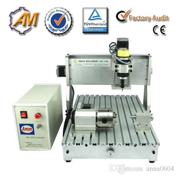 Alta presione 3020 CH60 800 w metallo morbido plastica lavorazione del legno cnc mini macchina per incidere